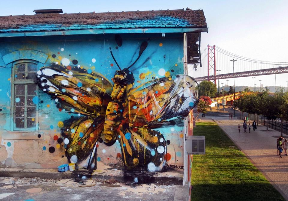 recycled sculpture bordalo ii