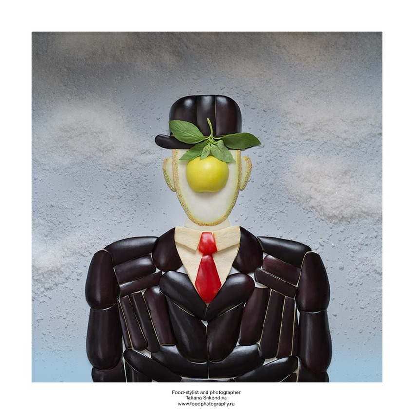 Rene Magritte, The Son of Man