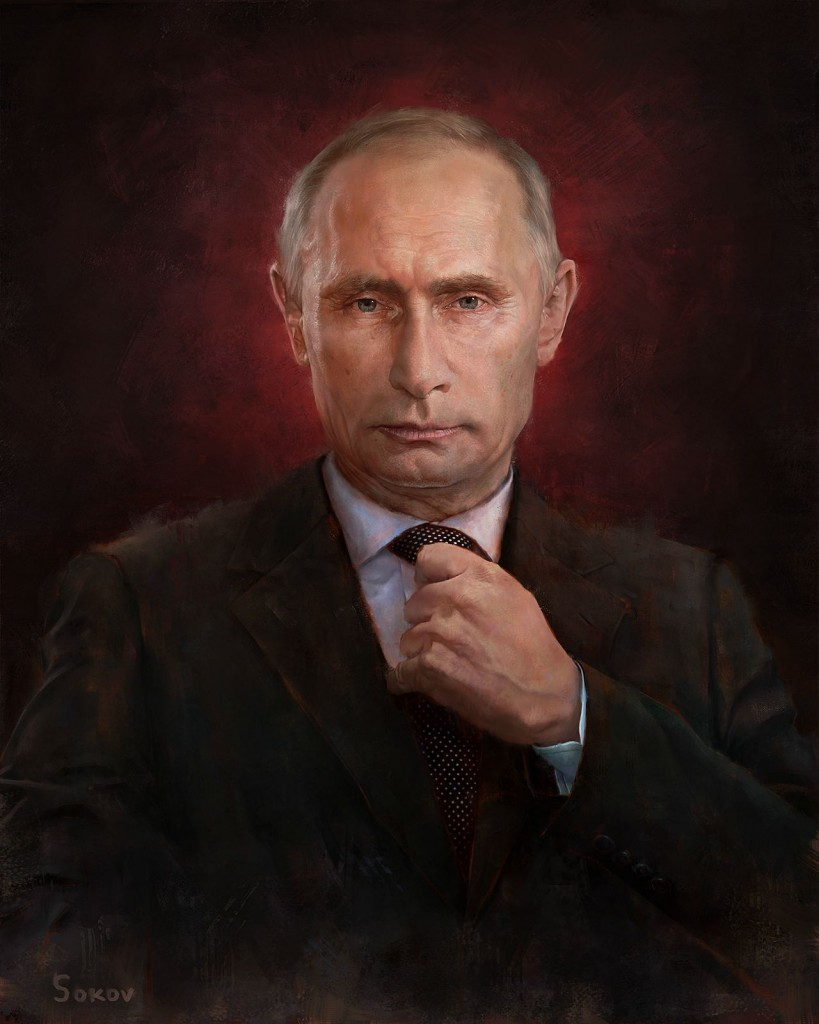 Putin Time person of the year cover