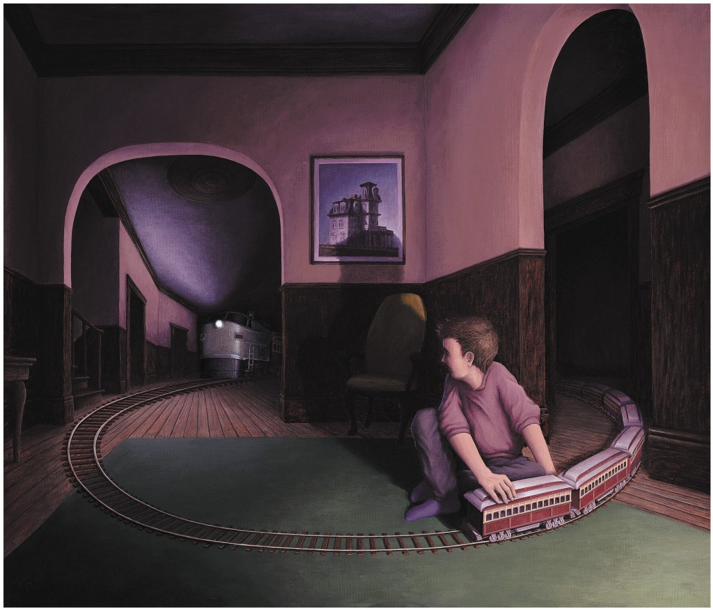 rob-gonsalves-painter-House-by-the-Railroad