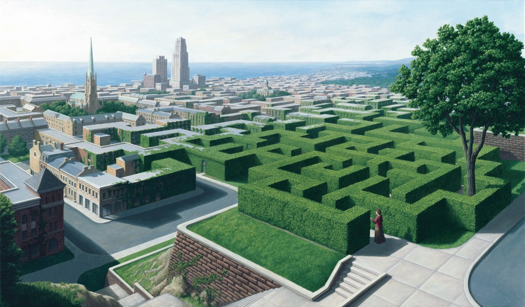 rob-gonsalves-painter-Into-the-Labyrinth