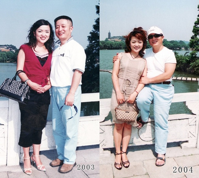 father and daughter 2003-2004