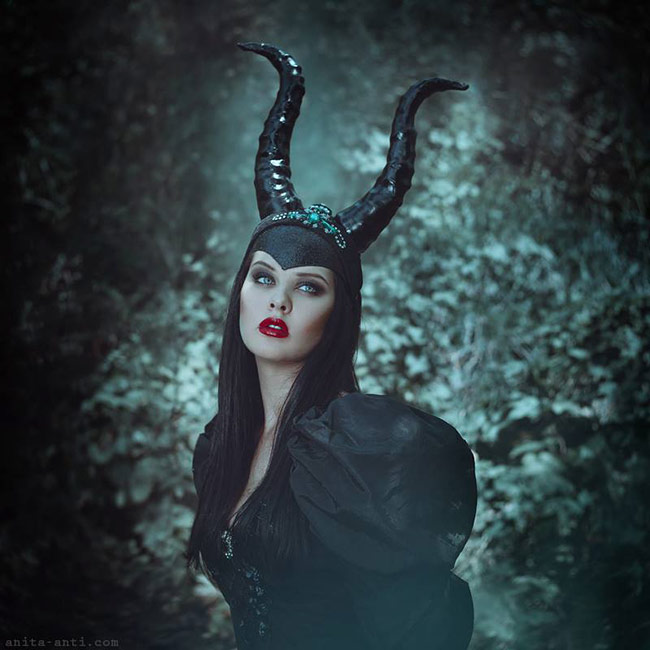 fairytale photography with animals by anita anti - Maleficent