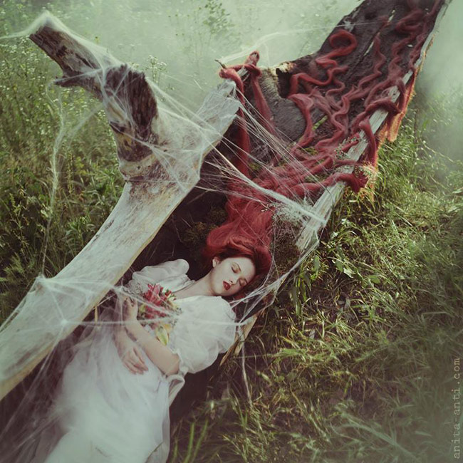 anita anti fairytale photography - Sleeping beauty