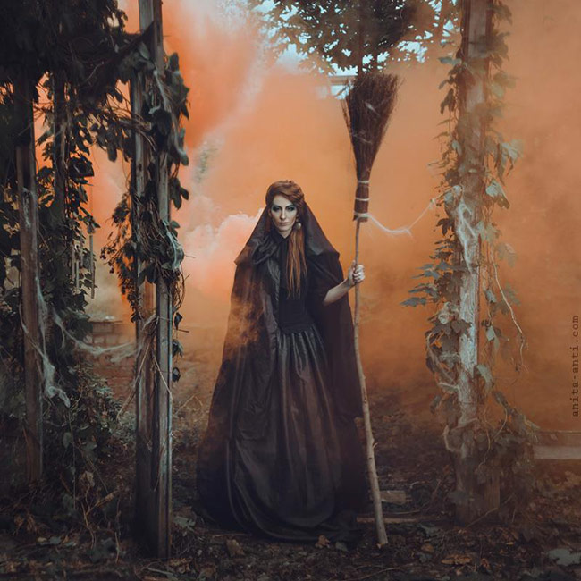 fairytale women photos by anita anti - The Witch