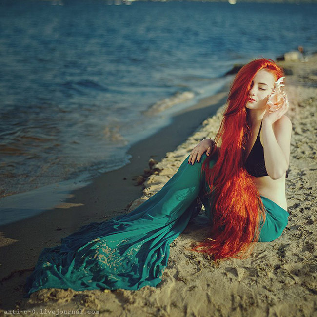 fairytale women photos by anita anti - The little Mermaid