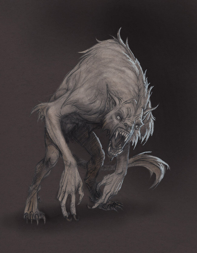 monster-drawings-werewolf