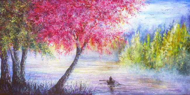 vibrant-nature-paintings-spring_journey
