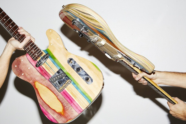 recycled-skateboards-guitars-3