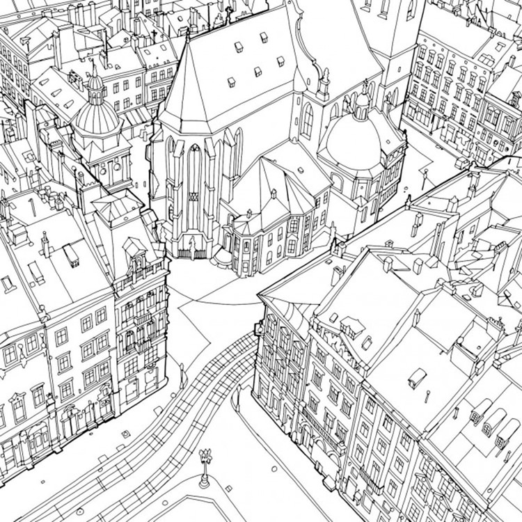 This Creative Adult Coloring Book Provides A Relaxing Way ...