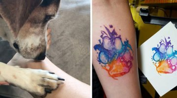 These Paw Print Tattoos Are More Than Trendy; They're PAWESOME